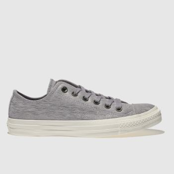 Converse Purple All Star Ox Metallic Womens Trainers
