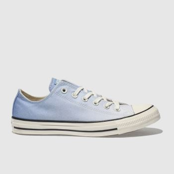 Converse Blue Chuck Taylor Ox Womens Trainers