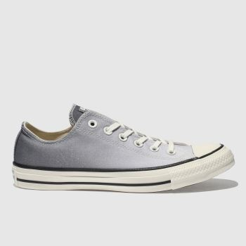 Converse Grey Chuck Taylor Ox Womens Trainers