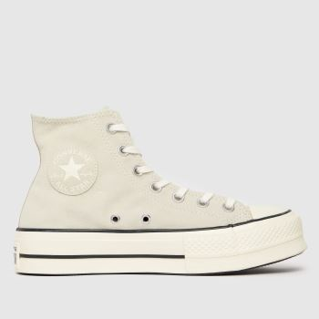 Converse White Cold Fusion Lift Hi Womens Trainers