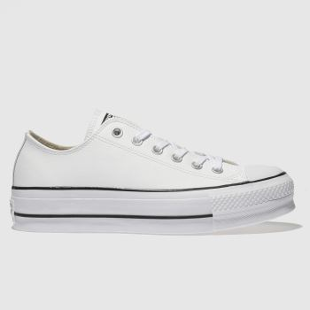 Converse White Cons Ct Lift Ox Womens Trainers