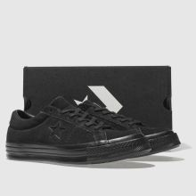 Converse mono one star ox suede 1