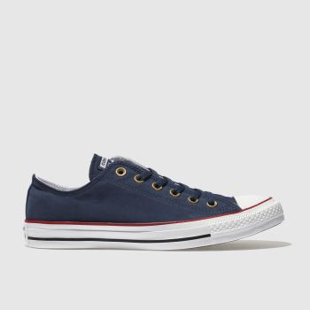 Converse Navy Chuck Taylor Peached Canvas Womens Trainers