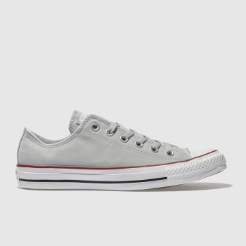 Converse Grey Chuck Taylor Peached Canvas Womens Trainers