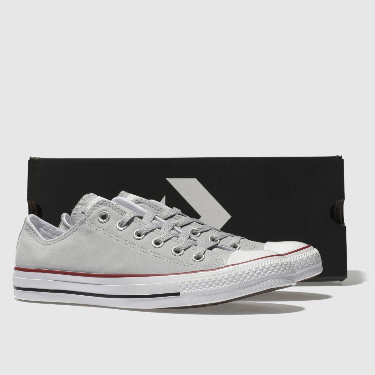 Damen Grau converse Chuck Taylor Peached Canvas Sneaker | Schuhe schuh Gute Qualität beliebte Schuhe | 475c02