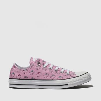 Converse Pink All Star Hello Kitty Ox Damen Sneaker