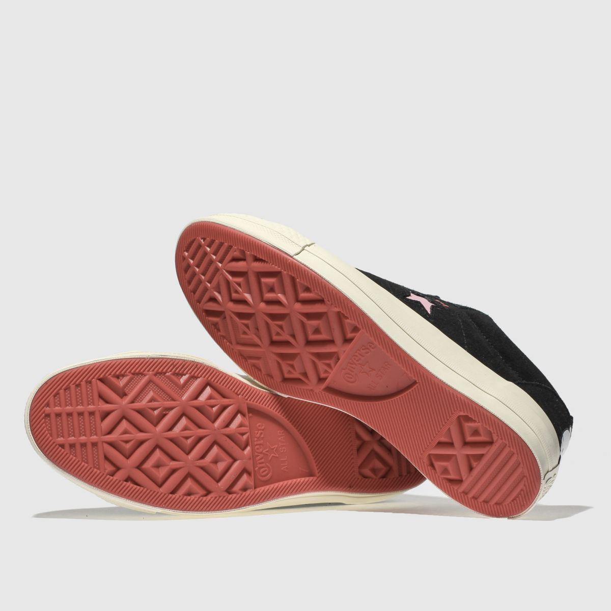 Damen Schwarz converse One Sneaker Star Hello Kitty Suede Sneaker One | schuh Gute Qualität beliebte Schuhe 4a32a8