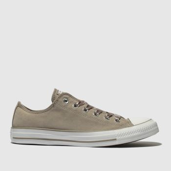 Converse Grey All Star Ox Satin Laces Womens Trainers
