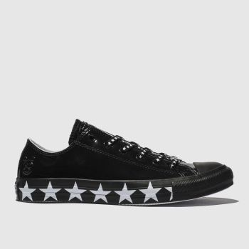 Converse Schwarz-Weiß All Star Ox X Miley Cyrus Damen Sneaker