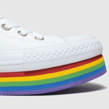 Converse All Star Platform Rainbow Ox 1