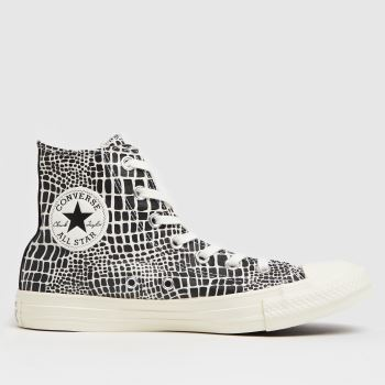 Converse Black & White Digital Daze Hi Womens Trainers