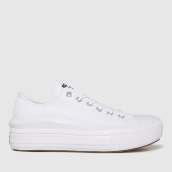 Converse White Move Ox Womens Trainers