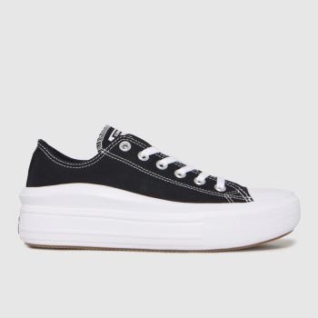 Converse Black Move Ox Womens Trainers