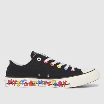 Converse Black My Story Ox Womens Trainers