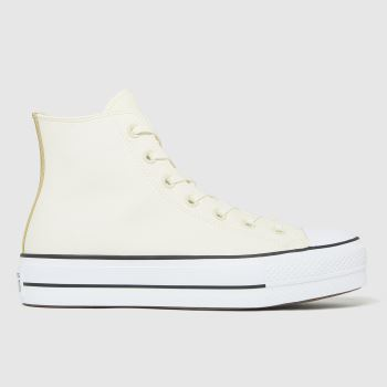 Converse White Lift Hi Womens Trainers