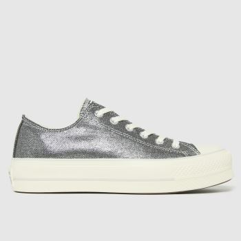 Converse Pewter Lift Ox Womens Trainers
