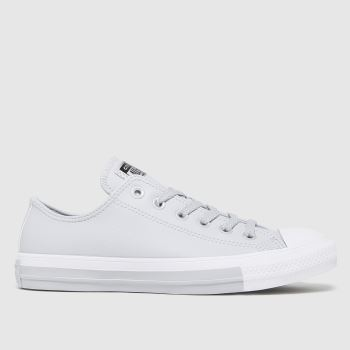 Converse Grey Anodized Metals Ox Womens Trainers