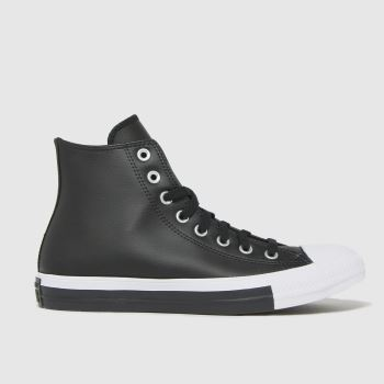 Converse Black Anodized Metal Hi Womens Trainers
