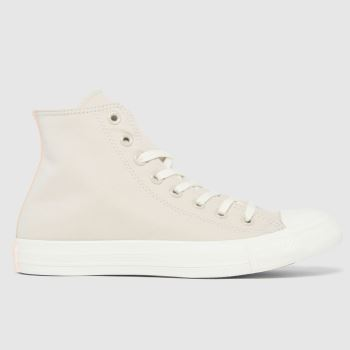 Converse White & Beige Alt Exploration Hi Womens Trainers