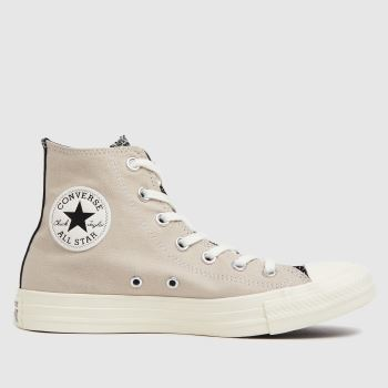 Converse Black & Grey Digital Daze Hi Womens Trainers