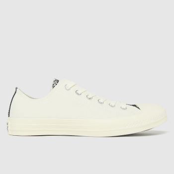 Converse Natural Digital Daze Ox Womens Trainers