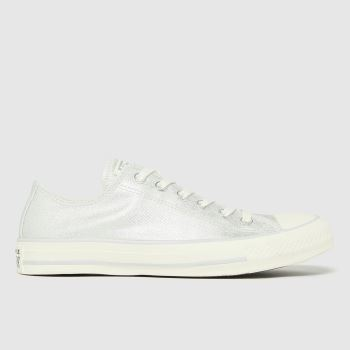 Converse Silver Digital Powder Ox Womens Trainers