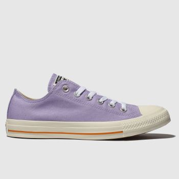 Converse Lilac All Star Washed Ox Womens Trainers