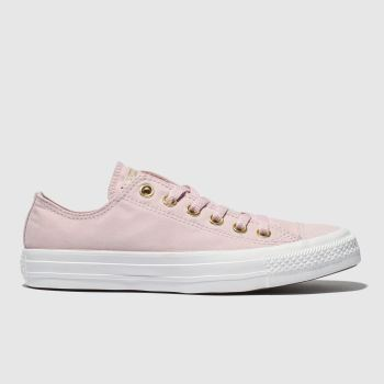 Converse Pale Pink All Star Classic Womens Trainers