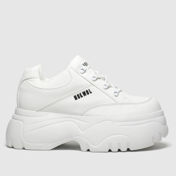 Nokwol White Scripter Womens Trainers