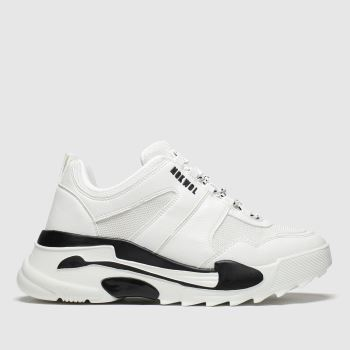 Nokwol White & Black Money c2namevalue::Womens Trainers