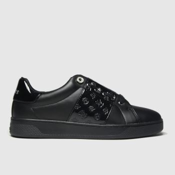 GUESS Black Rejeena Womens Trainers#