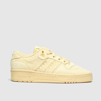 Adidas Yellow Rivalry Low Womens Trainers