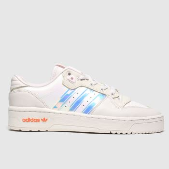 Adidas Pale Pink Adi Rivalry Low c2namevalue::Womens Trainers