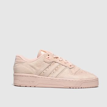 Adidas Pale Pink Rivalry Low Womens Trainers