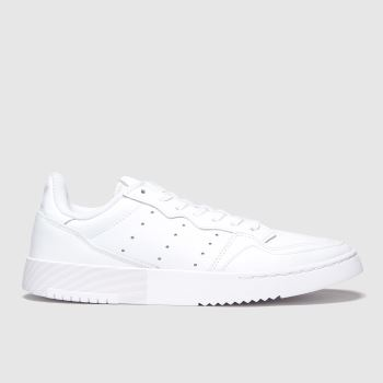 adidas White Supercourt Womens Trainers