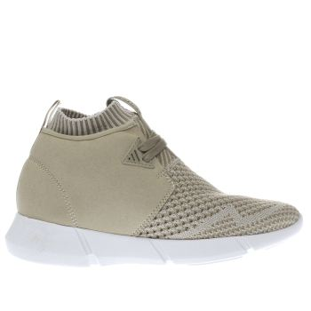 Cortica Stone Desert Knit Womens Trainers