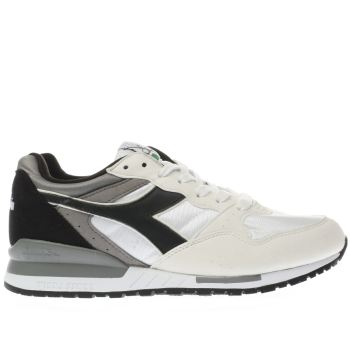 Diadora White Intrepid Nyl Womens Trainers