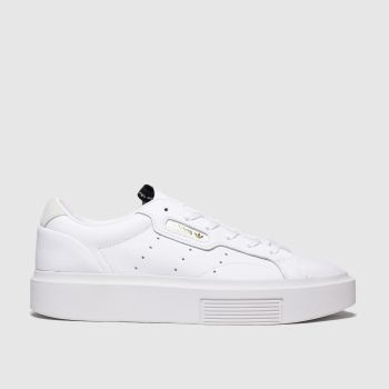 Adidas White Sleek Super c2namevalue::Womens Trainers