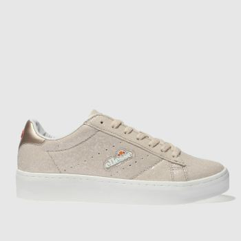 Ellesse Natural Anzia Platform Womens Trainers
