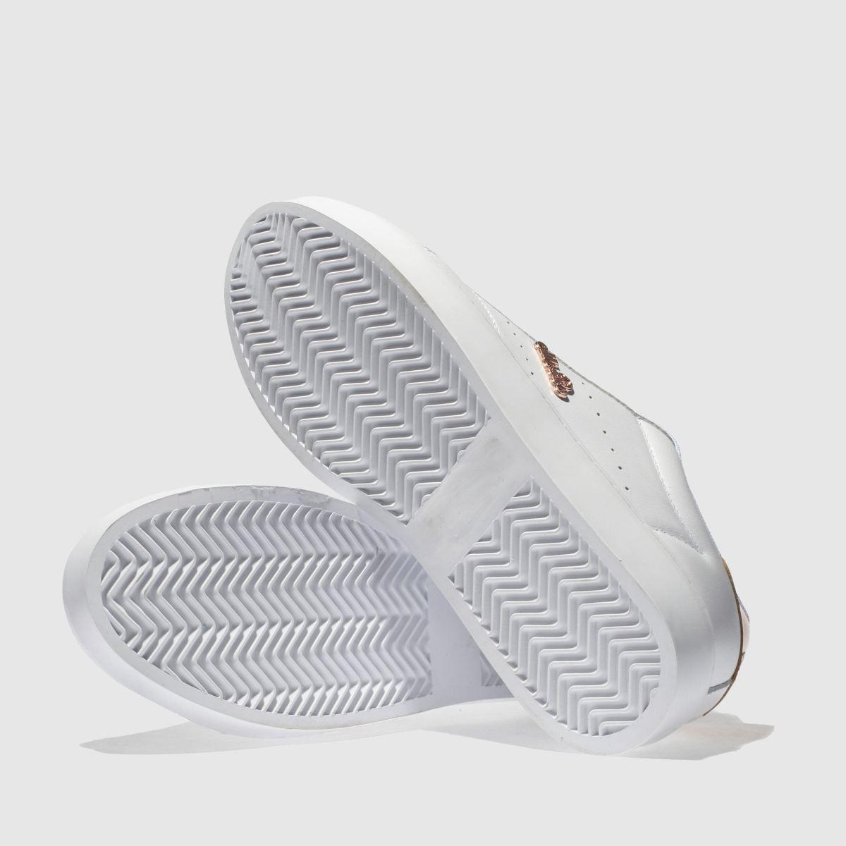 Damen Weiß-rosegold | ellesse Anzia Platform Sneaker | Weiß-rosegold schuh Gute Qualität beliebte Schuhe 554df3