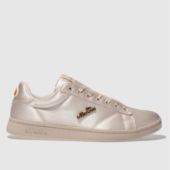 Ellesse Pale Pink Anzia Satin Womens Trainers