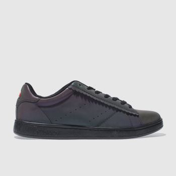 Ellesse Black Anzia Scallop Iridescent Womens Trainers
