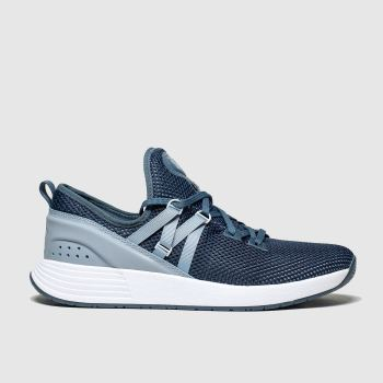 Under Armour Navy & Pl Blue Breathe X Nm Womens Trainers
