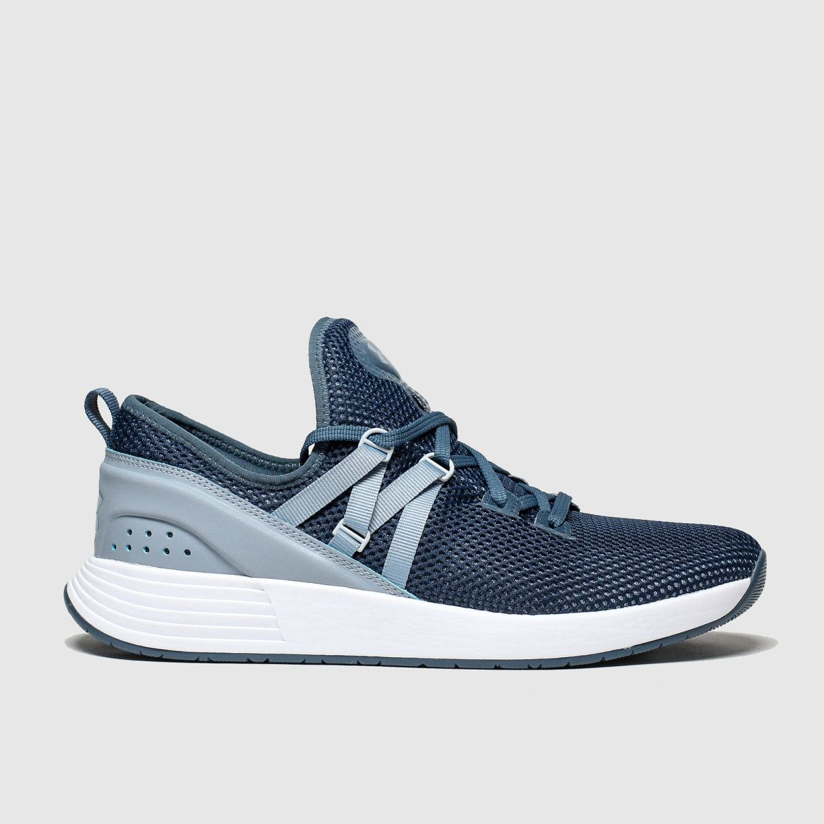 Under Armour Navy & Pl Blue Breathe X Nm Trainers
