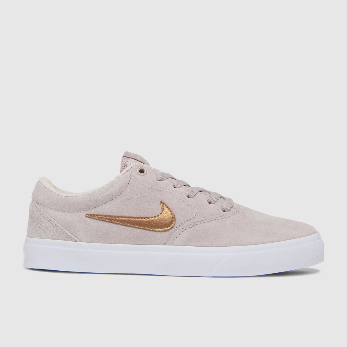 Nike SB Pale Pink Charge Trainers