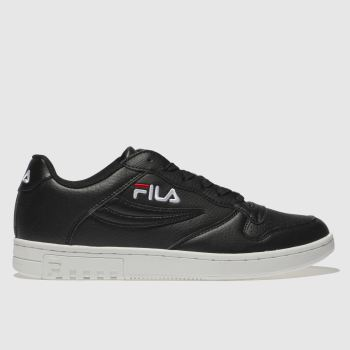 Fila Black & White Fx100 Low Womens Trainers