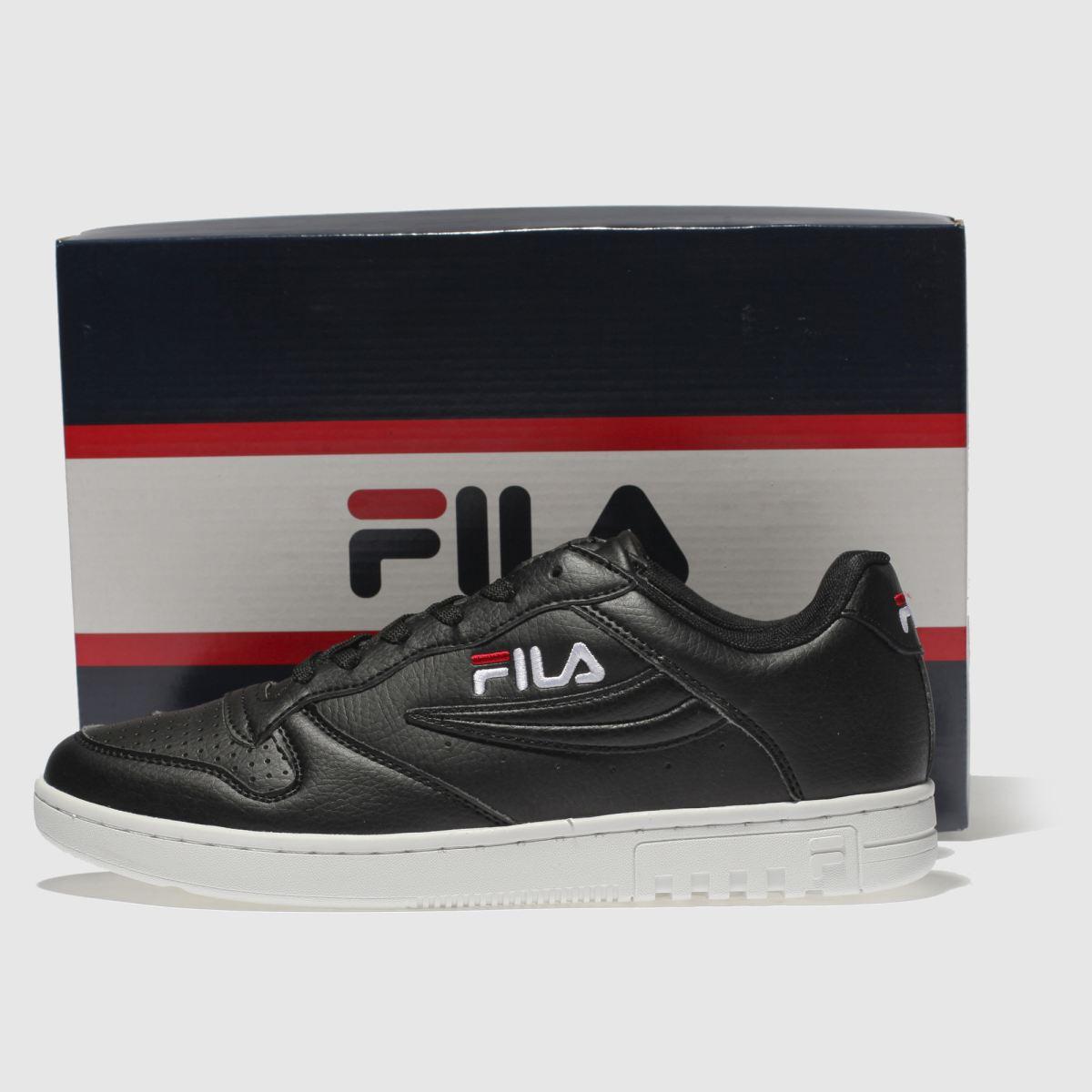Damen Schwarz-weiß fila Fx100 Low Sneaker beliebte | schuh Gute Qualität beliebte Sneaker Schuhe 63039a