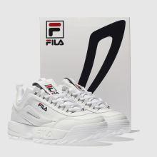 Damen fila Weiß Disruptor Ii Premium Sneaker