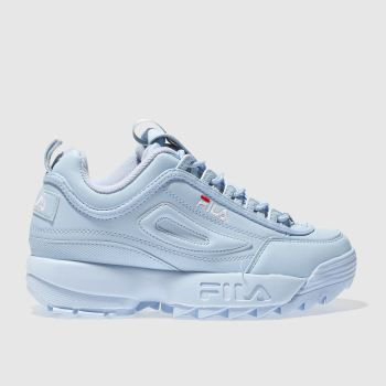 Fila Pale Blue Disruptor Ii Womens Trainers