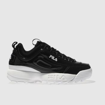 Fila Black & White DISRUPTOR II Trainers